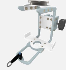 Hillaero BRONCHOTRON FAA certified Mount designed for your Air Ambulance Airmed Helicopter or Fixed Wing Aircraft ISO1