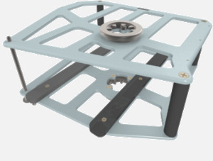 Hillaero CENTRIMAG FAA certified Mount designed for your Air Ambulance Airmed Helicopter or Fixed Wing Aircraft ISO1
