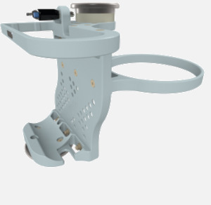 Hillaero LAERDAL FAA certified Mount designed for your Air Ambulance Airmed Helicopter or Fixed Wing Aircraft ISO1