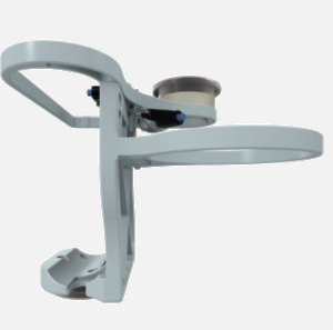 Hillaero LAERDAL FAA certified Mount designed for your Air Ambulance Airmed Helicopter or Fixed Wing Aircraft SIDE