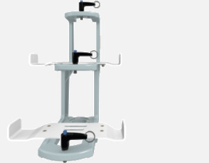 Hillaero MEDFUSION 3500 FAA certified mountable bracket for Air Ambulance Airmed Helicopter or Fixed Wing Aircraft FRONT