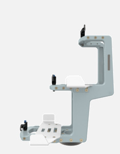 Hillaero MEDFUSION 3500 FAA certified mountable bracket for Air Ambulance Airmed Helicopter or Fixed Wing Aircraft SIDE