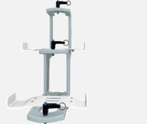 Hillaero MEDFUSION 4000 FAA certified mountable bracket for Air Ambulance Airmed Helicopter or Fixed Wing Aircraft FRONT