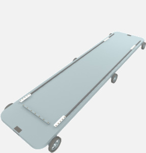 Hillaero METRO PALLET FAA certified Mount designed for your Air Ambulance Airmed Helicopter or Fixed Wing Aircraft ISO1