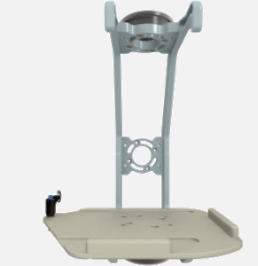 Hillaero PHILIPS MP5 FAA certified Mount designed for your Air Ambulance Airmed Helicopter or Fixed Wing Aircraft FRONT
