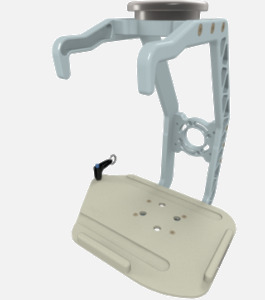 Hillaero PHILIPS MP5 FAA certified Mount designed for your Air Ambulance Airmed Helicopter or Fixed Wing Aircraft ISO1