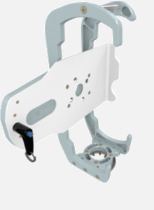Hillaero SENTEC FAA certified Mount designed for your Air Ambulance Airmed Helicopter or Fixed Wing Aircraft ISO1