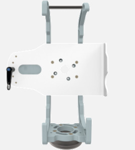 Hillaero SENTEC FAA certified Mount designed for your Air Ambulance Airmed Helicopter or Fixed Wing Aircraft SIDE